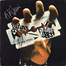 JUDAS PRIEST British Steel VINYL LP Rob Halford KK Downing Hill Autograph SIGNED
