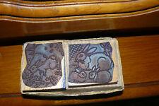boîte 2 tampons scolaires ancien de studia thème le Lapin