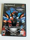 Zone of The Enders w/ Manual (PS2) Sony PlayStation 2 Konami