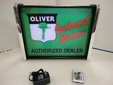 Oliver outboard Motors LED Display light sign box