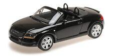 Audi Tt Roadster 1998 Black 1:18 Model MINICHAMPS
