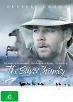 Russell Crowe THE SILVER BRUMBY DVD (NEW & SEALED)= PAL 4