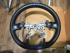 Modellista Leather Steering Wheel 09–15 Toyota Prius v α + ZVW30 35 40