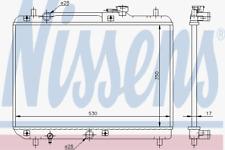 Radiador refrigeración del motor-Nissens 64177