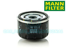 Mann Hummel OE Quality Replacement Engine Oil Filter W 75/3