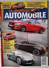 Le moniteur Automobile 30/04/2013; Mercedes CLA/ Renault Captur/ Audi S3/ RS 6