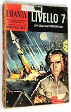 Mordecai Roshwald LIVELLO 7 1960 Mondadori URANIA n. 221 FANTASCIENZA