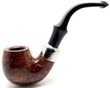 Peterson System Smooth Small Bent Billiard Briar Pipe (317)