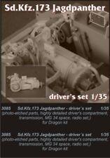 CMK 1/35 Jagdpanther Ausf.G Driver's Set for Dragon kit # 3085