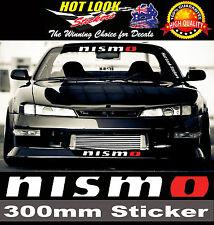 Nismo JDM Sticker 300mm Silva 370Z Altima Skyline GTR R32 R33 R34 LMGT2 LMGT4
