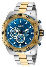Reloj de Pulsera invicta 25538 Para hombre Speedway Cronógrafo de Cuarzo dos tonos