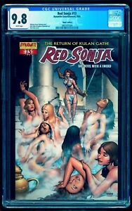 😍 RED SONJA 13 CGC 9.8 RUBI SEXY VARIANT 🔥 $1 SHIPPING w 1 7 8 or ANY CONAN 24