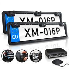 Rückfahrkamera Nummernschild Kennzeichen Set Sensoren Vorne&Hinten Einparkhilfe