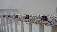 Cot Rail Cover Crib Teething Pad - Star Wars Darth Vader Storm Troopers x 1