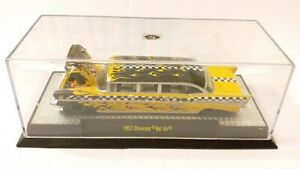 M2 MACHINES  AUTO STRETCH RODS NY TOY FAIR 1957 CHEVROLET BEL AIR TAXI