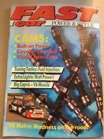 Fast Car Magazine - January 1988 - V8 Metro