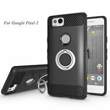 Newseego Compatible Google Pixel 2 Cover Case with Armor Dual Layer 2 in 1