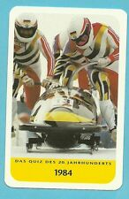 Wolfgang Hoppe Olympics Bobsled Cool Collector Card Europe Look!