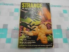 Strange Magazine Of True Mystery Volume 1 #1 (March 1952) Leslie Cameron GGA