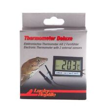 LUCKY REPTILE DELUXE DIGITAL THERMOMETER (TWIN PROBES) VIVARIUMS TERRARIUMS