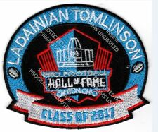 LADAINIAN TOMLINSON PATCH 2017 PRO FOOTBALL HALL OF FAME HOF CHARGERS SUPER BOWL