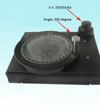 360 Degree Rotatable Mechanical Stage X-Y Movable Stage Microscope Accessories