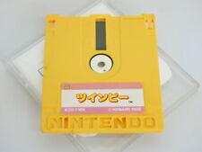 TWINBEE / SUPER MARIO BROS 2 Nintendo Famicom Disk Only Rewriting Japan 2289 dk