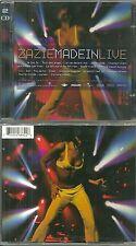 "ZAZIE : Le meilleur de ZAZIE EN CONCERT "" MADE IN LIVE "" ( 2 CD ) / COMME NEUF"