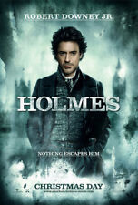 SHERLOCK HOLMES MOVIE POSTER 2 Sided ORIGINAL Advance HOLMES VF 27x40