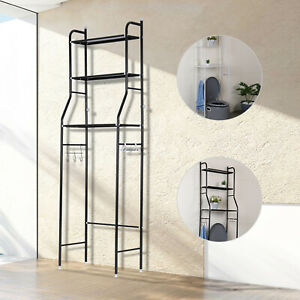 3 Tier Over Toilet Storage Rack Bathroom Laundry Washing Machine Shelf Rack