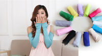 20 Colors Cosy Cotton Women Arm Long Fingerless Gloves Fashion Sunscreen Gloves