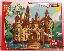 Melissa & Doug Fairy Tale Castle Extra Large Floor Puzzle 48 Pieces 2x3ft