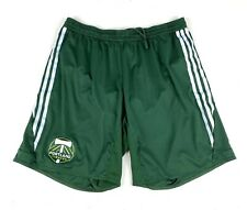 Portland Timbers Adidas MLS Match Game Soccer Shorts Sz Large Vintage Futbol