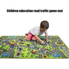 Fj- Bambini Educativo Auto Città Strada Tappeto per Movimenti Opaco Gioco Street
