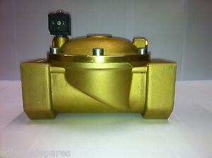 """CEME Replacement Solenoid Valves Brass CEME 2"""" BSP  Normally Closed N/C 8619"""