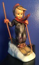 "5"" Hummel Figurine Skier #59 TMK 3 Good Condition"