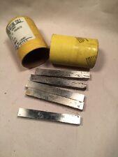 "NOS Morse 4202S 28022 1/2""x4"" Lathe Tool Bit HSS USA 5 Pack"