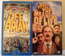 """New ListingMonty Python's """"The Meaning of Life"""" (Vhs, 1998) British Comedy """"Life of Brian"""""""