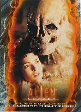 CARTES - CARDS DE COLLECTION SERIE CINEMA FILM ALIEN NUMERO 79