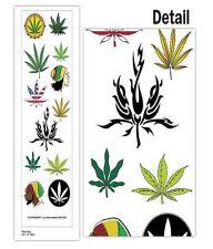 Temporary Tattoos, Marijuana, Weed Tat