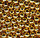 2mm Gold Plated Smooth Round Spacer Beads (100)