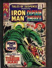 Tales of Suspense #93 ~ Iron Man/ Captain America/ Titanium Man 1967 (7.0) Wh