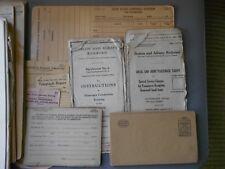 1940s vintage railroad memorabilia lot - NY Central; Boston & Albany