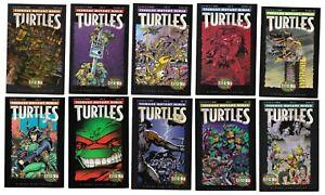 Teenage Mutant Ninja Turtles City at War 10 Comic Lot 50-54 57-58 60-62 Mirage