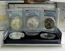 2006-W Silver Eagle-20th Anniversary Set / PCGS
