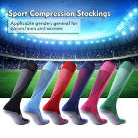 Long High Socks Stocking Team Training Scrimmage Football Soccer For Adult Child