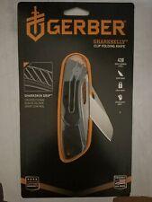 Authorized 3214 Gerber USA Made Sharkbelly Fine edge Pocket Folding Knife Folder
