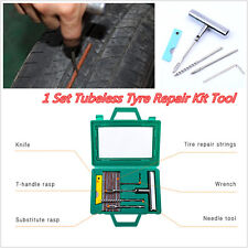 1 Set Car Tyre Repair Kit Tubeless  Tire Wheel Puncture Rasp Patch Fix Hand Tool