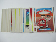 1986 Topps Garbage Pail Kids 4th Series (91) Card Variation Set RARE CARDS