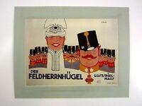 alter Kino Film Druck Bild hinter Passepartout Reklame Lustspielhaus 50x40cm 262